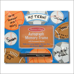 Sports Autograph Memory Frame