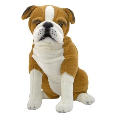 English Bulldog - 16in Dog by Melissa and Doug