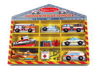 Rescue Vehicles Set